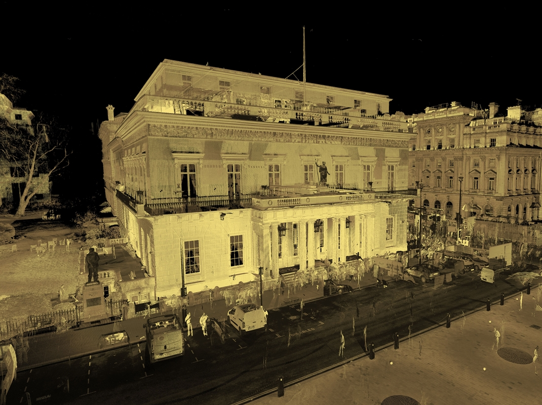 The Athenaeum, 3D laser scanning
