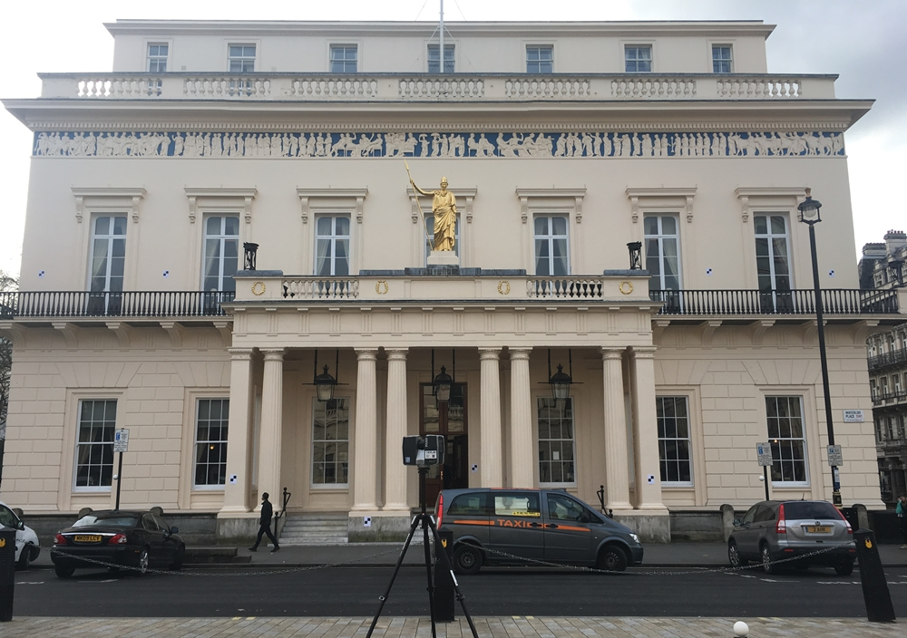 The Athenaeum, 3D Building Scanner