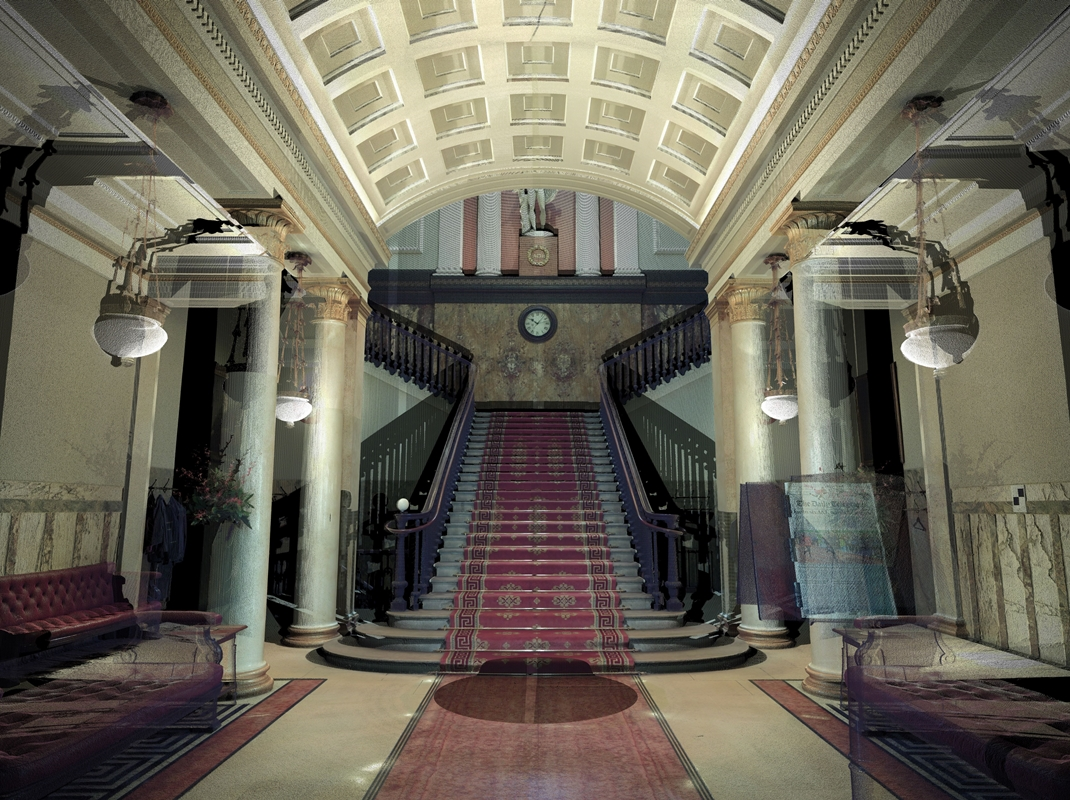 The Athenaeum, 3d laser scanning service