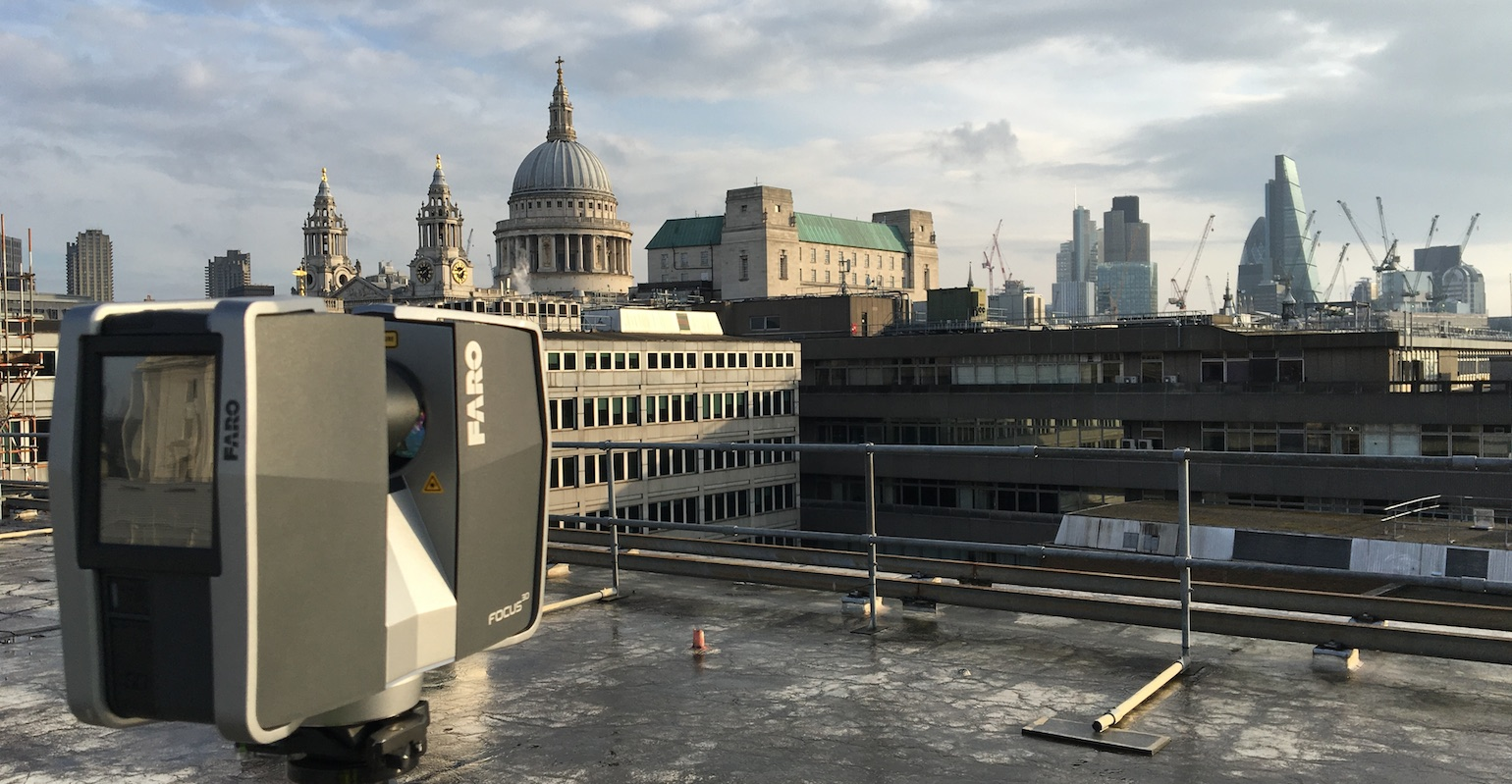 3D Laser Scanning London Skyline