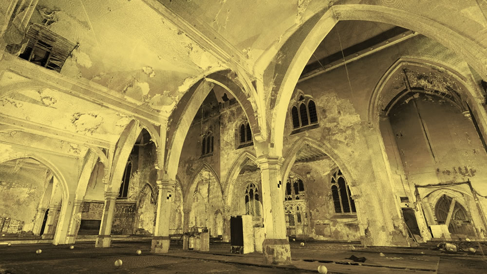 Documentation of Derelict Church, Sheffield