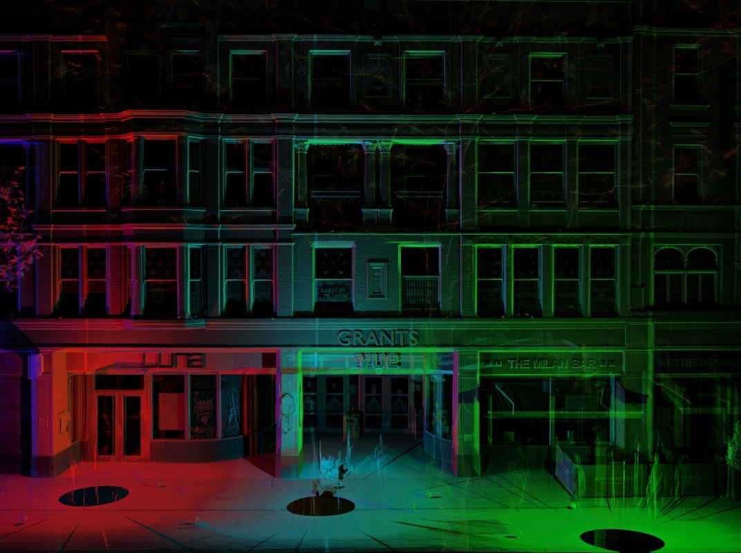 Grants Entertainment Centre, 3D Laser Scanning