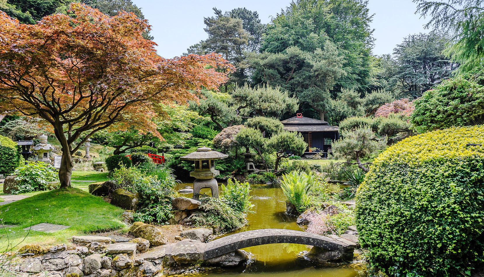 Cadpan survey the Garden House with Historic Japanese Gardens