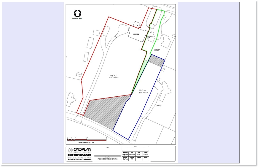 lease plan, cadplan, land registry plan