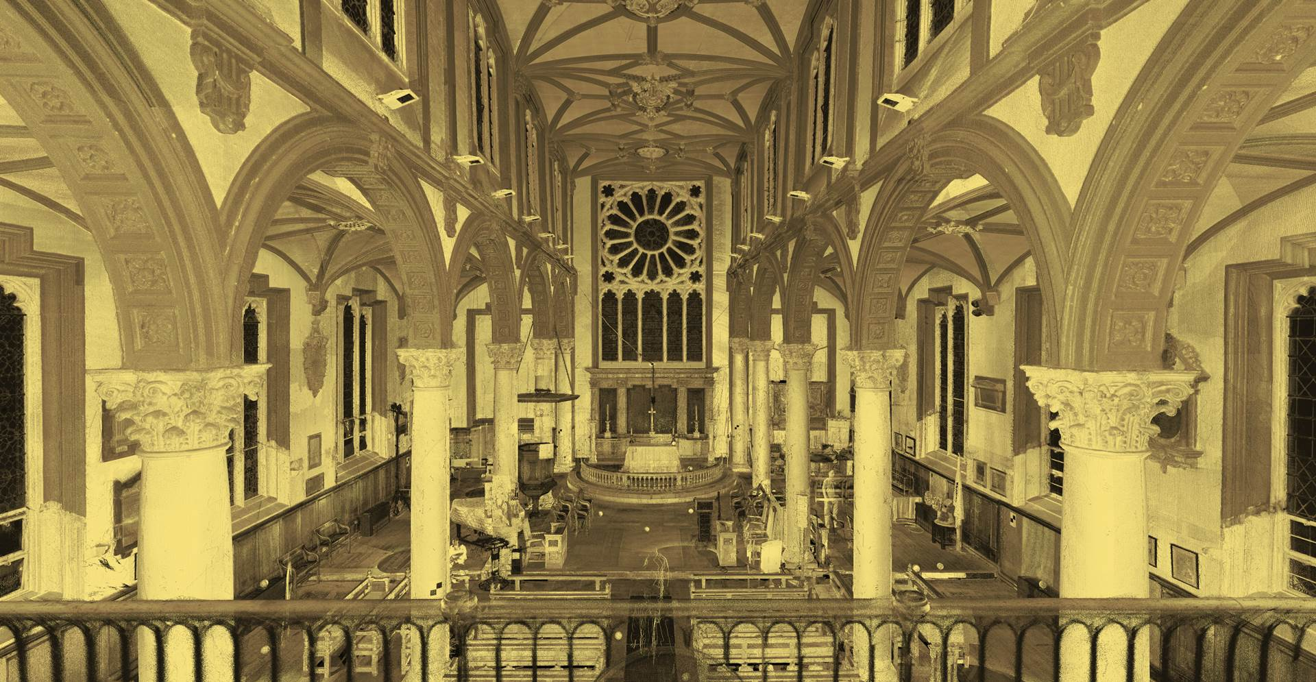 The Renovation of St. Katharine Cree - Leadenhall Street