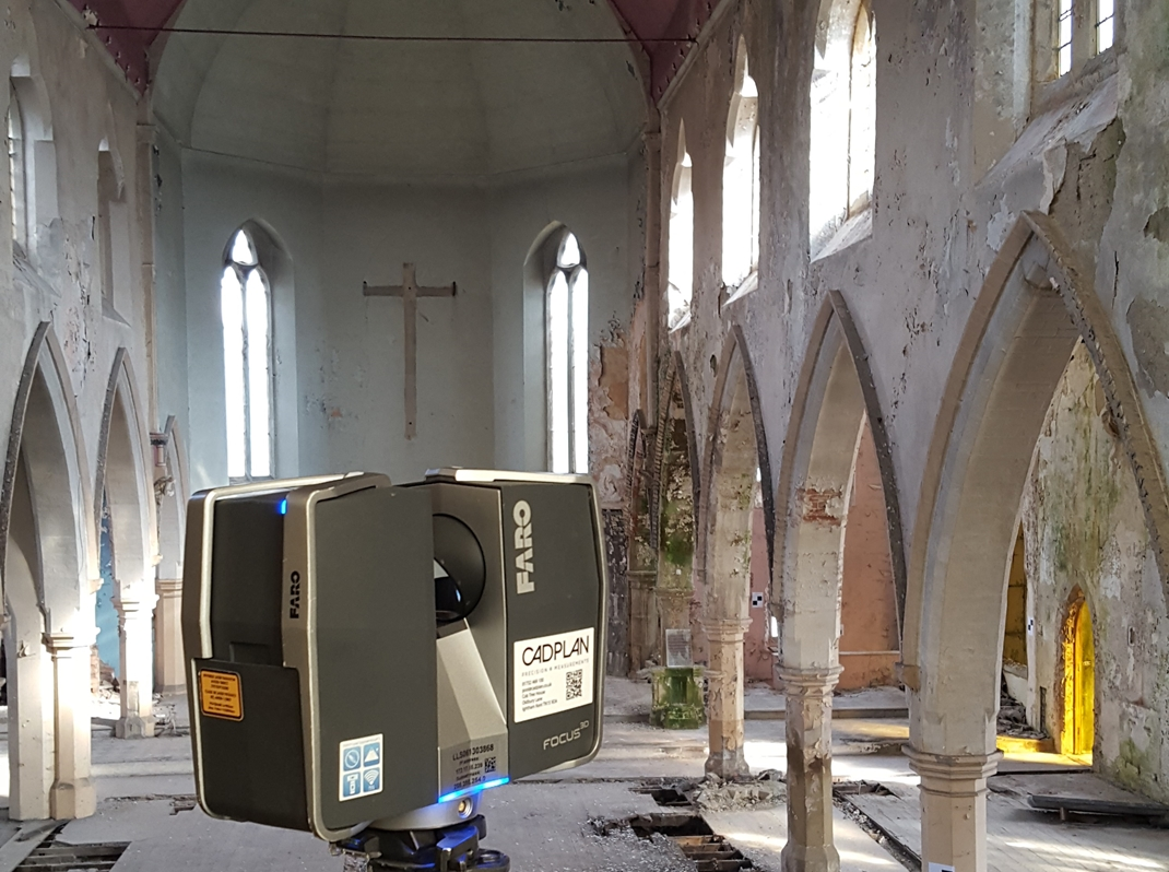 St Vincents, 3D laser scanning services