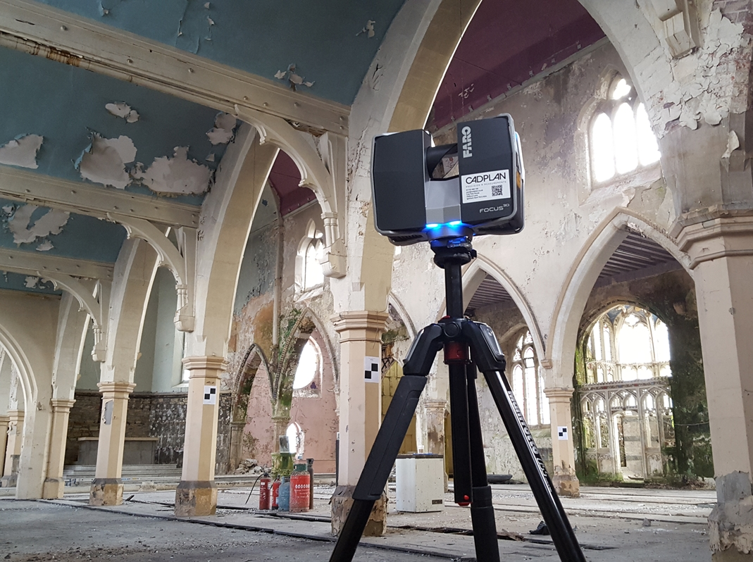 St Vincents, 3d building scanner