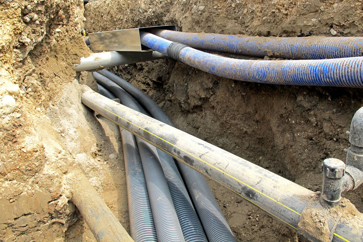 Underground Utility Survey - Pipes
