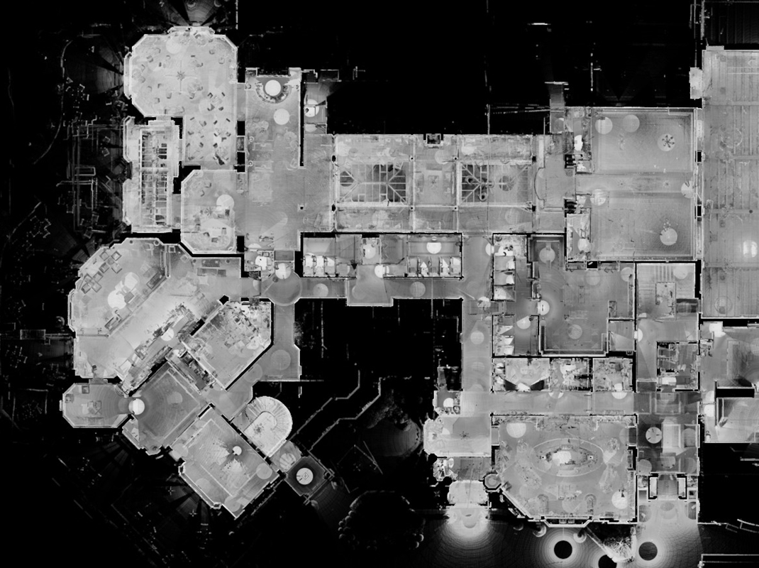 laser scan floor plan