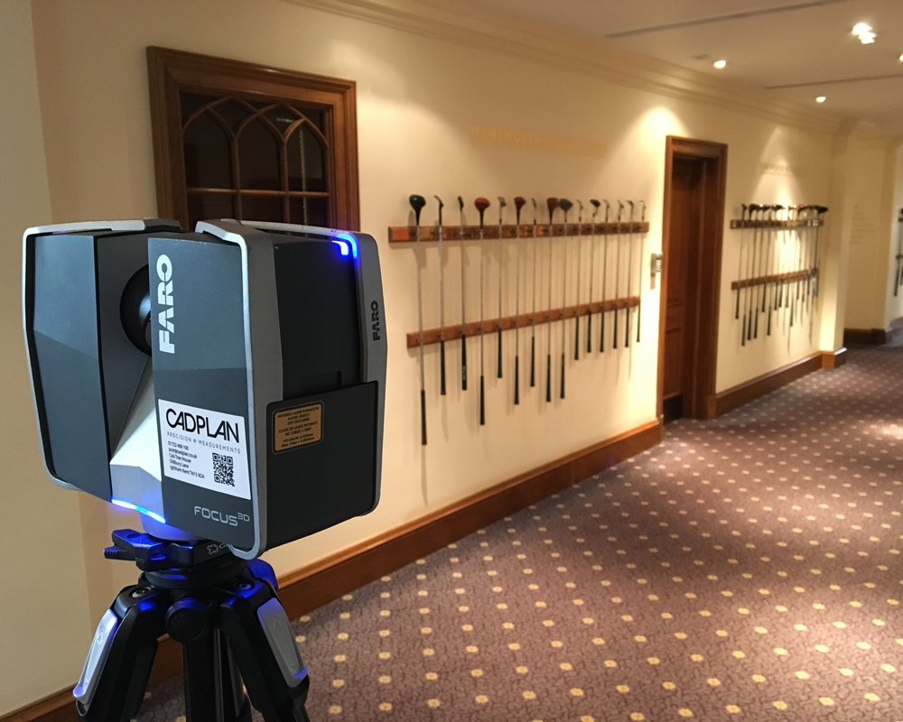 Cadplan Contracted To Survey Clubhouse At Wentworth Golf Club